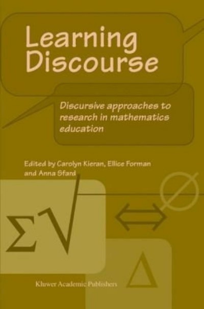 Learning-discourse-discursive--approaches-to-research-in-mathematics-education